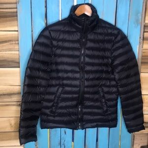 Soia & Kyo down filled puffer coat black small